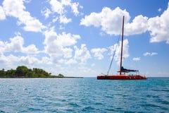 Caribbean sea scenery Stock Image