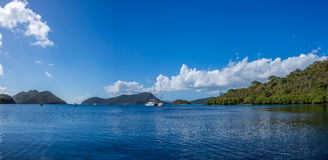 Caribbean sea at US Virgin Islands Stock Image