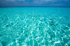 Caribbean sea view in paradise Stock Image