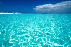 Caribbean sea view in paradise