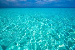 Caribbean sea view in paradise Royalty Free Stock Image