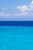 Caribbean sea view in paradise Royalty Free Stock Photography