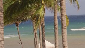 Caribbean Sea waves tropical vacation stock footage