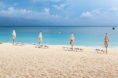 Caribbean seaside resort Royalty Free Stock Image