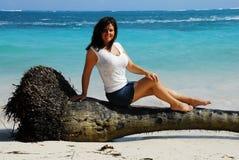 Caribbean Sitting Stock Image
