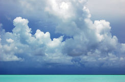 Caribbean Sky Stock Photography