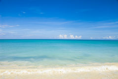 Caribbean sky and water Stock Photography