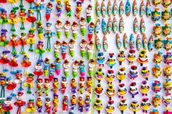 Caribbean souvenirs in Dominican Republic Stock Image