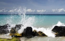 Caribbean Splash Stock Photos