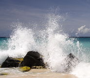 Caribbean Splash Stock Photo