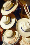 Caribbean Style Hats Stock Images