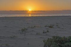 Caribbean sunrise stock images