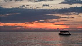 Caribbean Sunrise Stock Photography
