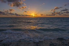 Caribbean sunrise Royalty Free Stock Photos