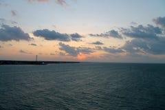 Caribbean sunrise over the keys Royalty Free Stock Photography