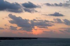 Caribbean sunrise over the keys Royalty Free Stock Images