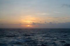 Caribbean sunrise over the keys Royalty Free Stock Photos