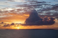 Caribbean Sunrise Royalty Free Stock Photo