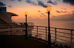 Caribbean Sunset Stock Photo