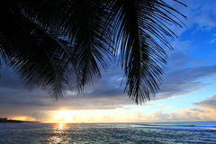 Caribbean Sunset Puerto Rico Royalty Free Stock Images