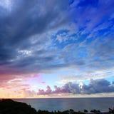 Caribbean Sunset Puerto Rico Stock Photos