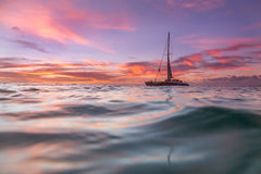Caribbean Sunset Royalty Free Stock Photography