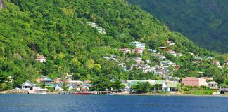 Caribbean town Stock Image