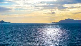 The Caribbean tropical beach Stock Photo