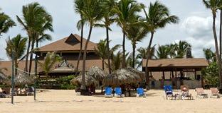 Caribbean Tropical resort. Dominican Republic Caribbean Tropical resort at Punta Cana Stock Photography