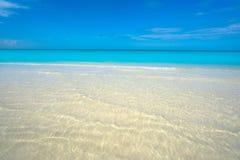 Caribbean turquoise perfect beach Riviera Maya. Caribbean turquoise perfect beach in Riviera Maya of Mexico stock image