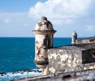 Caribbean turret Royalty Free Stock Photos