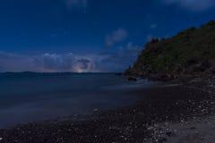 Caribbean twilight Royalty Free Stock Photo