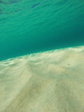 Caribbean Underwater Seascape Stock Photos