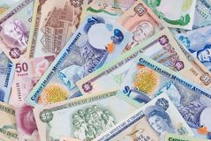 Caribbean Vacation - Economy Royalty Free Stock Images