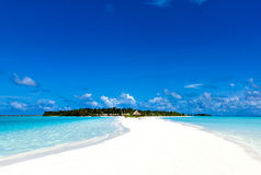 Caribbean vacation in a tropical paradise Stock Photo