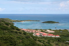 Caribbean view Royalty Free Stock Image