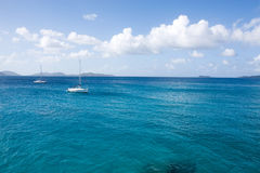 Caribbean Waters Stock Image