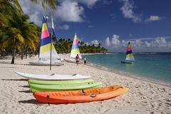 Caribbean Watersports Stock Photos