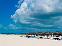 caribbeans βραδύτατο sirena playa της Κούβα&si Στοκ Φωτογραφία