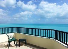 caribbian τυρκουάζ θάλασσας Στοκ Εικόνα