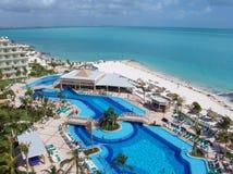 caribbian morza Obrazy Royalty Free
