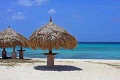 Caribbian strand Royaltyfria Foton