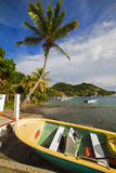 Caribe, Guadaloupe 免版税图库摄影