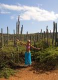 caribean女孩 免版税图库摄影
