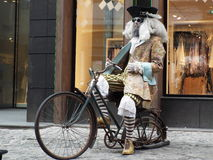 Caribean pirate bike Stock Photo