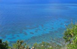 Caribbean Sea Wild Beach Royalty Free Stock Photography