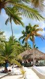 Caribian hav för ösaonaDominikanska republiken arkivbilder