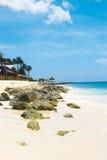 caribian tropiskt för strand Royaltyfria Bilder