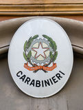Caribinieri sign Royalty Free Stock Image