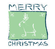 caribou Χριστούγεννα Στοκ εικόνες με δικαίωμα ελεύθερης χρήσης